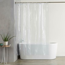 """Deluxe Quality Shower Curtain Liner Clear 70""""W x 72""""L Mildew Resistant USA Ship - $8.79"""