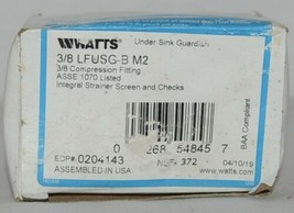 Watts Under Sink Guardian 3/8 Inch Compression Fitting 0204143 image 1