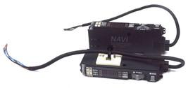 LOT OF 2 SUNX FX-301P-F7 NAVI ADVANCED DIGITAL FIBER OPTIC SENSORS FX301PF7