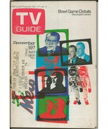 ORIGINAL Vintage Dec 27 1969 TV Guide Richard Nixon College Bowls - $19.79