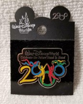 Disney World 2000 Pin Celebrate the Future Hand in Hand Collectible Auth... - $9.95
