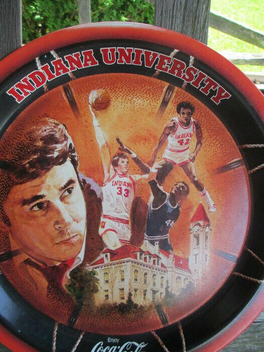 Coca-Cola Commemorative Tray Indiana University 1976 NCAA Basketball Champs image 2