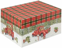 Lang Santa's Truck Ornament Box 4022023 - $40.53