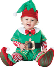 Santa's Elf , Toddler Christmas Costume , 12 TO 18 MONTHS , Free Shipping - $50.00