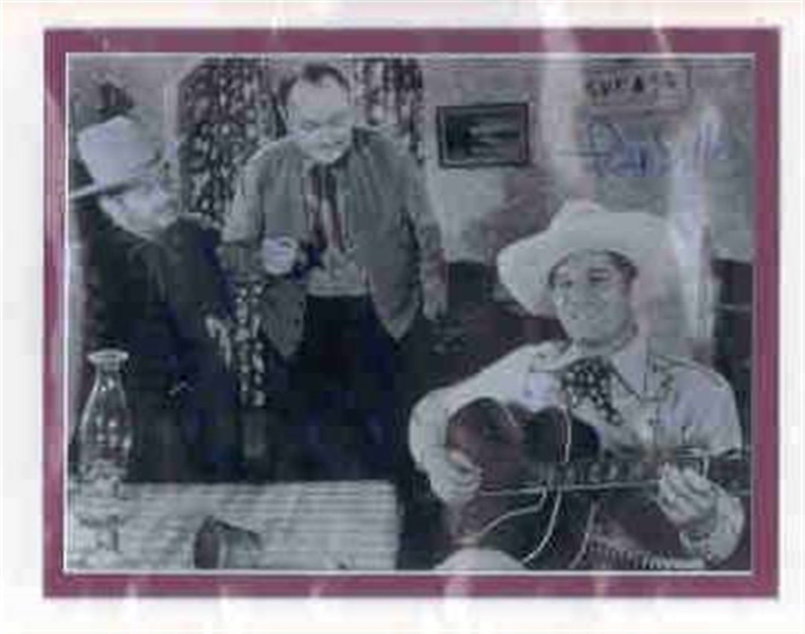 Primary image for Fred Scott signed photo. Beautifully double matted. Singing cowboy.