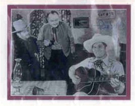 Fred Scott signed photo. Beautifully double matted. Singing cowboy. - $26.95