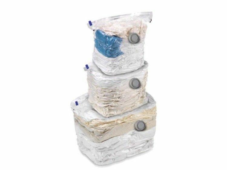 Honey Can Do 3pk Combo Set Vacuum Cubes W - $22.27