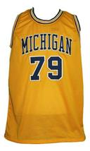 Aaliyah #79 Custom College Basketball Jersey New Sewn Yellow Any Size image 4