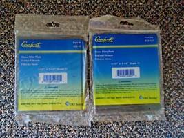 "Lot Of 2 Comfort "" NIP "" Part No.932-107 Glass Filter Plates 4 1/2"" X 5 ... - $16.82"