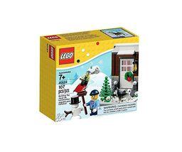 Lego 40124 Winter Fun / Christmas Seasonal Holiday [New] Building Kit - $29.99
