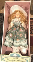 "VICTORIAN HERITAGE Doll ""Angela"" Porcelain Doll LIMITED EDITION 29"" Tall... - $79.15"