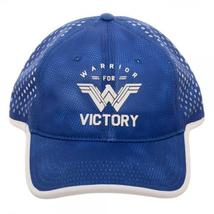 Wonder Woman Super Retro VICTORY Blue Mesh Back Cap, Officially Licensed Hat - $19.95