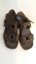 American Eagle Leather Huarache Sandals Size 9 Made in Italy - $12.87