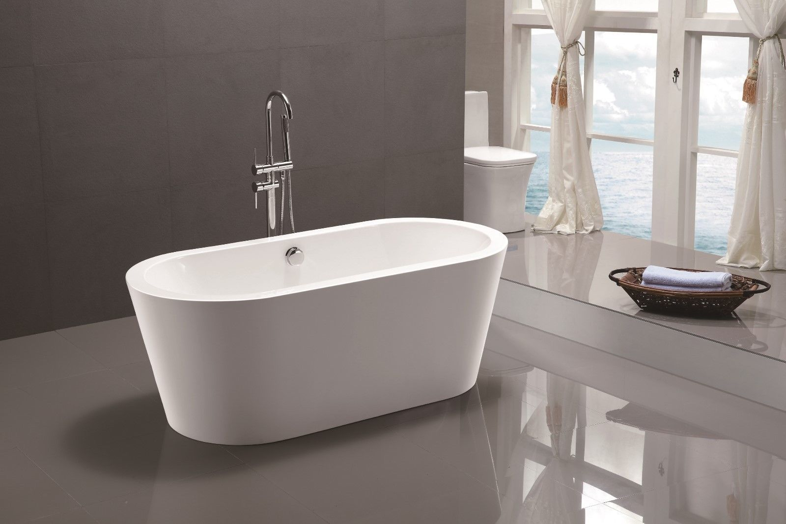 Sensational Vanity Art White Acrylic 59 Inch And 50 Similar Items Download Free Architecture Designs Rallybritishbridgeorg