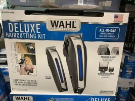 Wahl Deluxe Complete Hair Cutting Kit 29 Piece Clipper Set with Beard Tr... - $79.00