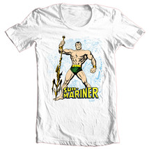 Sub-Mariner T-shirt Free Shipping vintage superhero comic book cotton white tee image 2