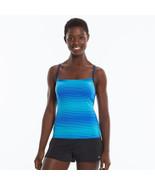 Nike Racerback Tankini Blue Frequency Waves (M) - $52.99