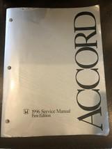 1996 Honda Accord, Factory Shop Service Repair Manual,  First Edition - $39.99