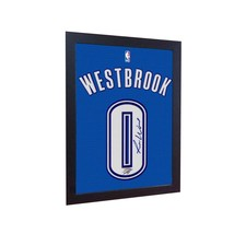 Russell Westbrook okc signed autograph NBA printed on Canvas 100% Cotton... - $20.46