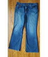 EDDIE BAUER Womens NATURAL FIT Boot cut Jeans Pants Size 14S EUC - $8.41