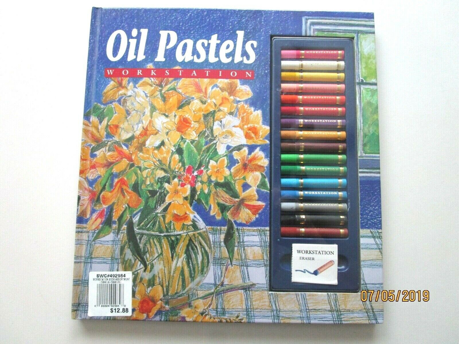 Oil Pastels Workstation by Jane Hughes - NEW - A6