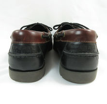 Sperry Top Sider Men's Boat Deck Shoe Leather Size 9.5 M Black Brown New image 6