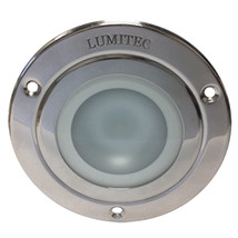 Lumitec Shadow - Flush Mount Down Light - Polished SS Finish - 3-Color Red/Bl... - $104.99