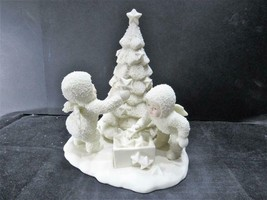 "(#89) ""WE WILL MAKE IT SHINE"" 79464 Dept 56 D56 Snowbabies CHRISTMAS FIG... - $10.44"