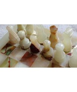 ONYX PAKISTANI MARBLE CHESS SET HOME DECOR 12 INCHES GIFT - $142.97