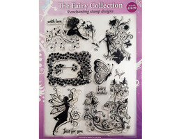 The Fairy Collection Clear Stamp Set, 9 Stamp Designs #130614