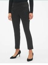 Gap Skinny Black Ankle Pants Solid Animal Print Size 8 Petite NWT - $44.55