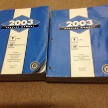 2003 PONTIAC AZTEK BUICK RENDEZVOUS Service Shop Repair Workshop Manual Set - $237.55