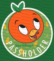 Homemade Walt Disney World Passholder Flower Garden Show 2020 Orange Bird Magnet - $8.05