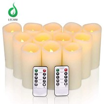"Valentines Day Gifts, Real Wax LED Candles 12 Packs H 5"" x D 2.2"" Batter... - $34.68"
