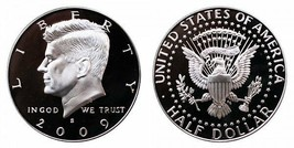 2009 S Proof Kennedy Half Dollar CP2048 - $5.75