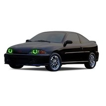 FLASHTECH for Chevrolet Cavalier 00-04 Green Single Color LED Halo Ring ... - $136.22