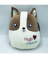 Squishmallow Reginald Corgi Dog Plush Brown Hugs & Squishes Valentine's ... - $29.99