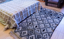 MOST WANTED !!! ??? Fascinating Moroccan wedding blanket, Handira, X large 300 x - $169.00