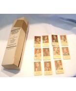 """1950s Box of Peerless Weighing Machine Tickets """"Portraits of Movie Stars"""" - $149.99"""