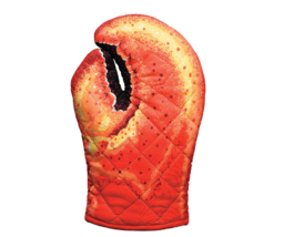 Oven Mitts Funny Hot Pot Holder Lobster Claw Kitchen Gadgets Dining Cook... - $10.88