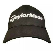 TaylorMade Burner R9 Golf Hat Cap Black Structured Polyester Weave Low P... - $18.99