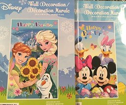 Disney Wall Decoration Disney & Friends 2 in a Package - $7.99