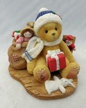 Cherished Teddies - Evan - Christmas and Happiness, p/n 484822 w/box & c... - $13.81