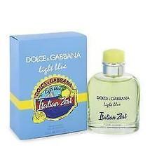 Light Blue Italian Zest Cologne  By Dolce & Gabbana for Men 4.2 oz Eau D... - $101.25