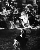 Anita Ekberg in La dolce vita iconic in Trevi Fountain Rome 16x20 Poster - $19.99