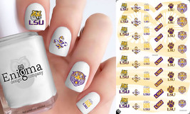 LSU Tigers Nail Decals (Set of 50) - $4.95