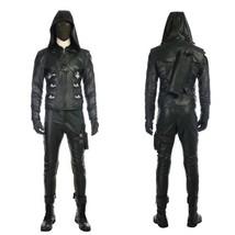 Green Arrow Season 5 Prometheus Cosplay Costume Halloween Uniform Custom... - $121.76