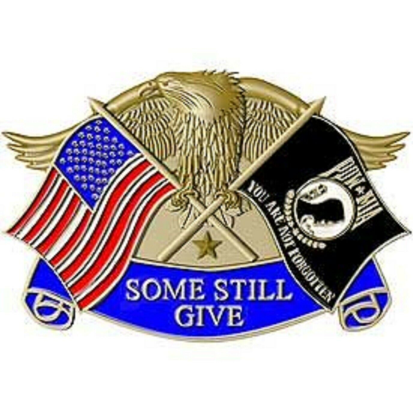 Primary image for United States POW MIA Eagle Belt Buckle