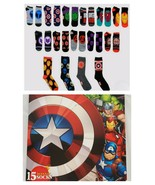 NEW SEALED 2020 Marvel 15 Days of Socks Advent Calendar Fits Size 6-12 - $32.36