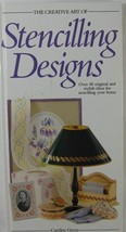 THE CREATIVE ART OF STENCILLING DESIGNS BOOK 40+ IDEAS - $9.50